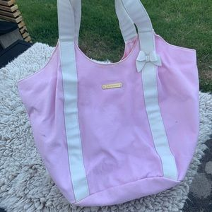Pink Juicy couture  tote bag